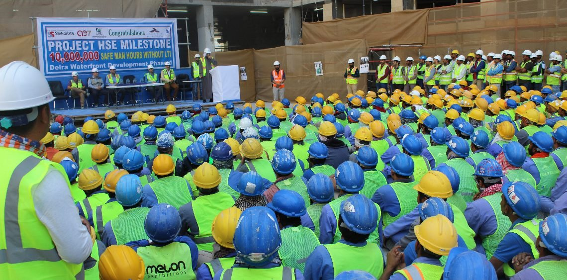 Ithra Dubai Celebrates 10 Million Safe Man Hours at Flagship Deira Enrichment Project